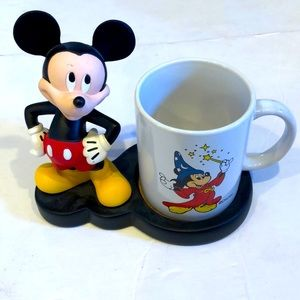 Mickey Mouse figure and cup🔥